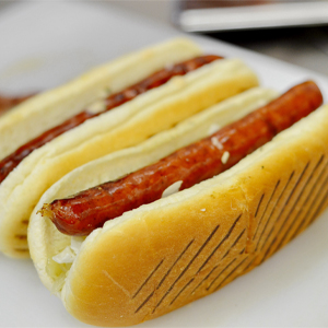Wors Rolls (Brioche Hot Dogs)